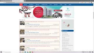 Hướng dẫn đăng tin website: Batdongsanphodong.com