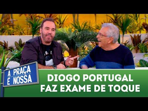 Diogo Portugal faz exame de toque | A Praça é Nossa (12/07/18)
