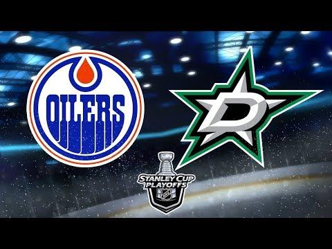 NHL® 18 Playoffs Round 1   Dallas Stars v.s. Edmonton Oilers   Game 4