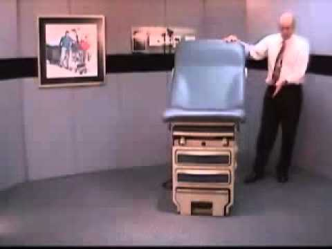 Midmark Ritter 204 Manual Exam Table Medical Equipment Product Demonstration By Claflin You
