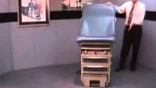 Midmark Ritter 204 Manual Exam Table - Medical Equipment Product Demonstration by Claflin Equipment