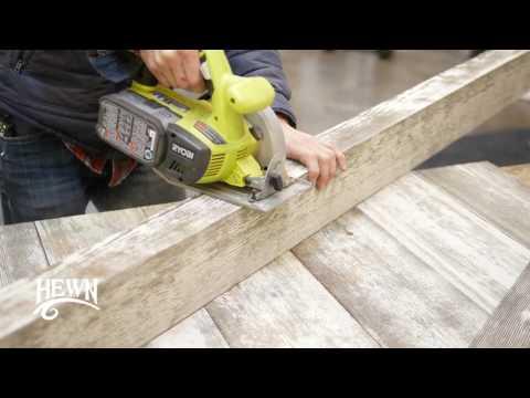 Hewn DIY Video -  Headboard and Coat Rack