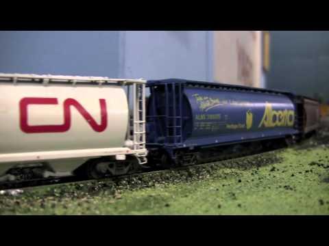 Gary Clark's Freelance CN HO layout [HD]