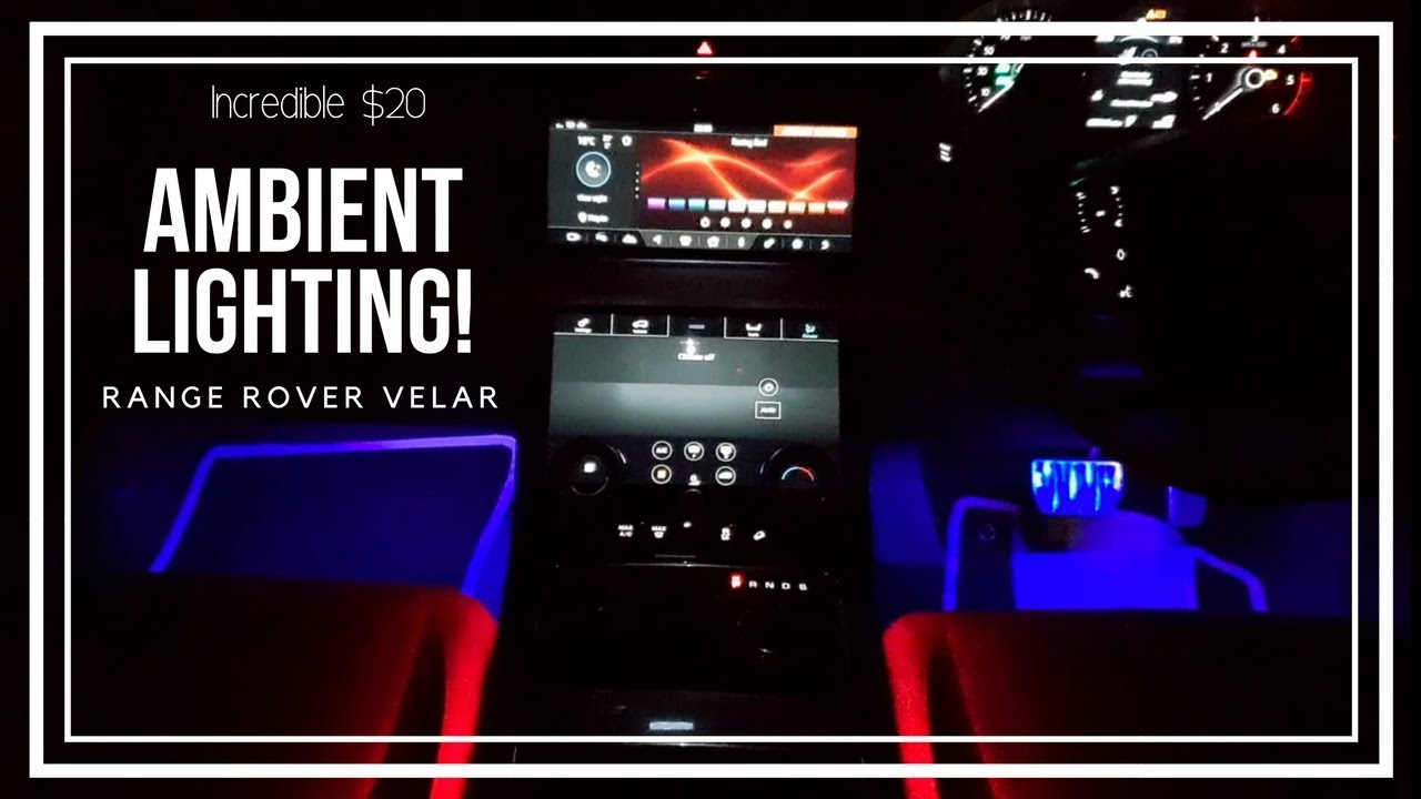 Ambient Lighting Kit For Your Car