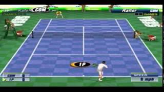 Tennis 2K2 Sega Dreamcast Gameplay