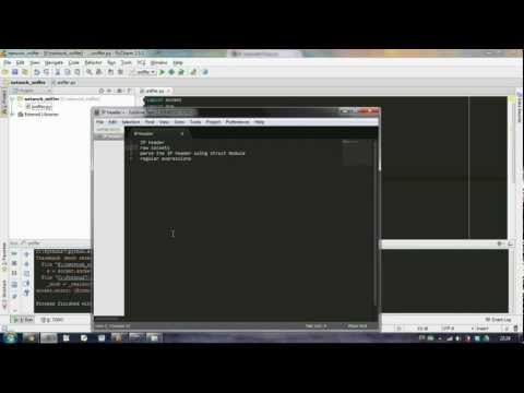 Python] Simple network Sniffer - Part 1 - YouTube