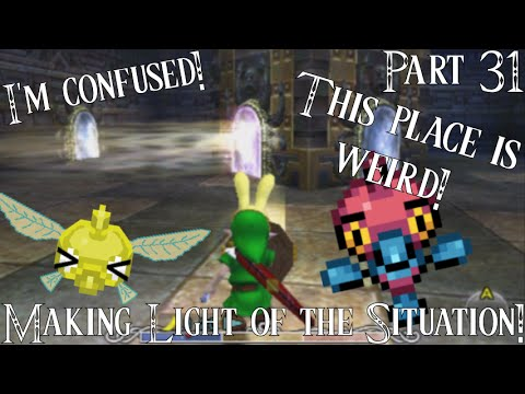 Level: Max - Making Light of the Situation!-Part 31-Stone Tower Temple-Let's Fail at LoZ MM 3D!