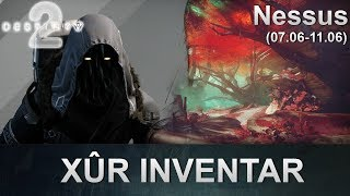 Destiny 2: Xur Standort & Inventar (07.06.2019) (Deutsch/German)