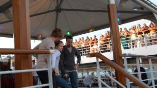 BSB Cruise 2011 - Backstreet Boys dancing Britney and N'Sync by Evelin Alves