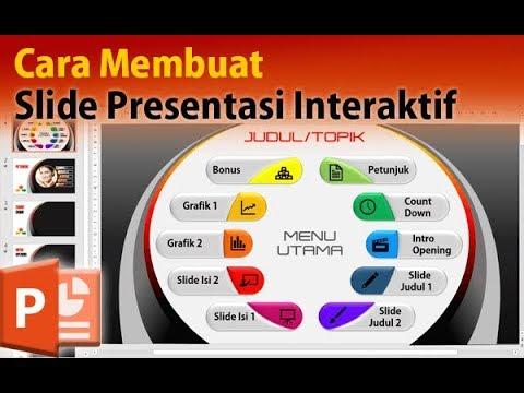 Cara Membuat Slide Presentasi PowerPoint yang Interaktif