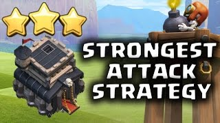 EASY 3 STARS!! STRONGEST TH9 WAR ATTACK STRATEGY POST BOMB TOWER UPDATE | Clash of Clans