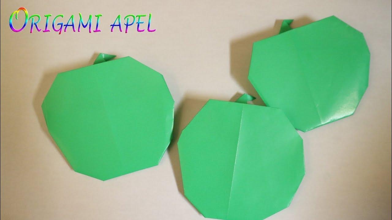 76+ Gambar Apel Origami Kekinian
