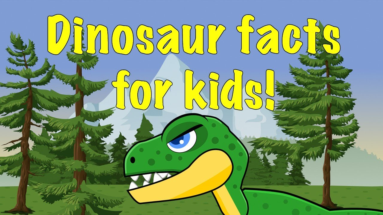 Fun Facts about Dinosaurs for kids