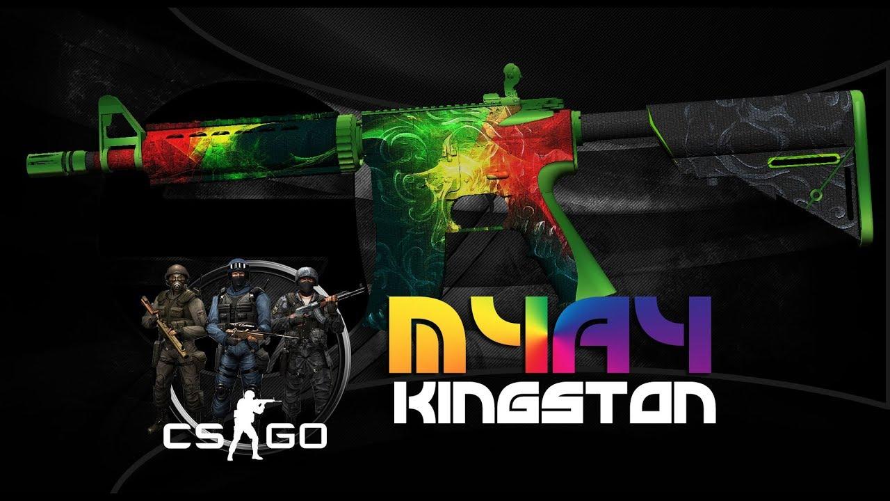 CSGO Weapon Design   Counter-Strike Global Offensive   M4A4 Kingston
