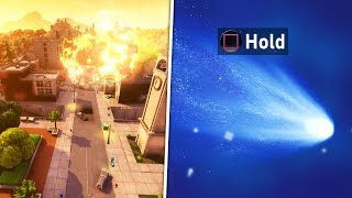 Meteor Hitting Tilted Towers RIGHT NOW! Do This To ACTIVATE Meteor says Epic! (FREE VBUCKS Giveaway)