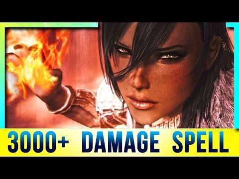 Skyrim Special Edition Builds – BEST Spells Location (3000+ DAMAGE! Secret Mage Build)!