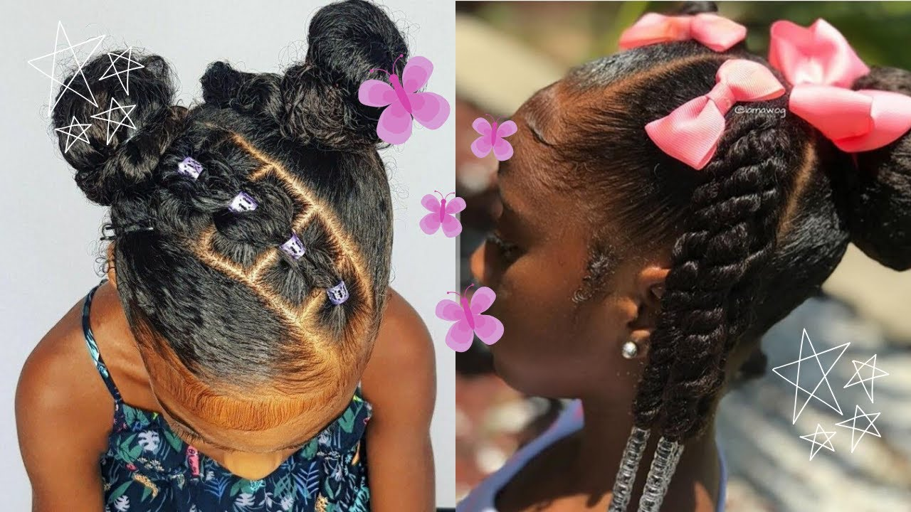 Adorable Little Black Girl Natural Hairstyles Compilation 2020 I Low Key Extra Edition Youtube