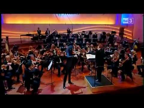 Nemanja RADULOVIC PAGANINI Concerto VIDEO Ier Mvt RAI 22 Septembre 2010