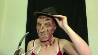 Freddy Krueger Fx Makeup Tutorial