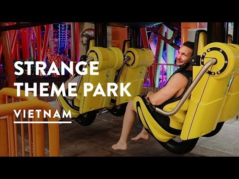 WEIRD! SUN WORLD DANANG WONDERS 🎢 ASIA PARK | Sun Wheel Danang | Vietnam Travel Vlog 075, 2017