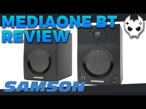 Product Review: Samson MediaOne BT4 - Active Studio Monitors with Bluetooth