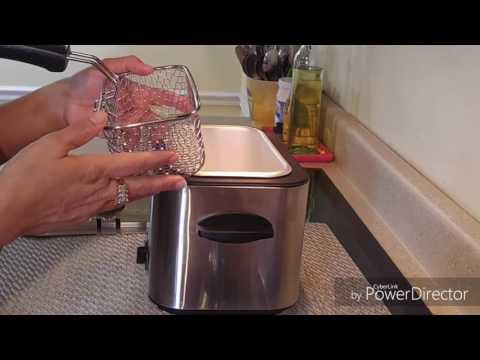 Review of my 1.1 liter Farberware Deep Fryer or Mini Fryer