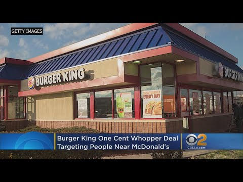 Craig Stevens - Man charged more than $1,000 for Burger King penny Whopper deal