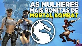 AS MULHERES MAIS BONITAS DE MORTAL KOMBAT - TOP 10