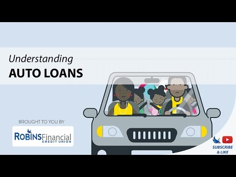 Understanding Auto Loans: Robins Financial Credit Union