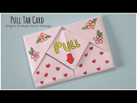 pull-tab-card-origami-envelope-card-|-letter-folding-origami-|-teachers-day-card-|-diy-greeting-card