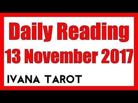 💘 FOLLOW YOUR HEART Daily Reading 13 November 2017 - Ivana Tarot