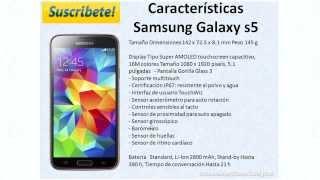 Samsung Galaxy S5 SM-G900 Caracteristicas especificaciones y precio en español