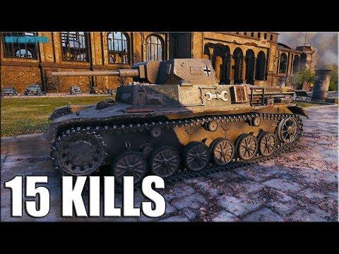 15 фрагов/ботов за бой world of tanks