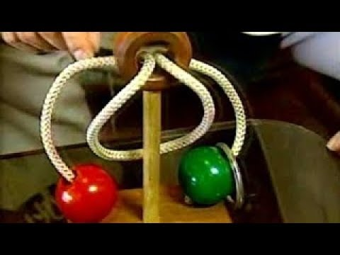 Japanese Rope and Ring IQ Brain Puzzle Solved after 10 years