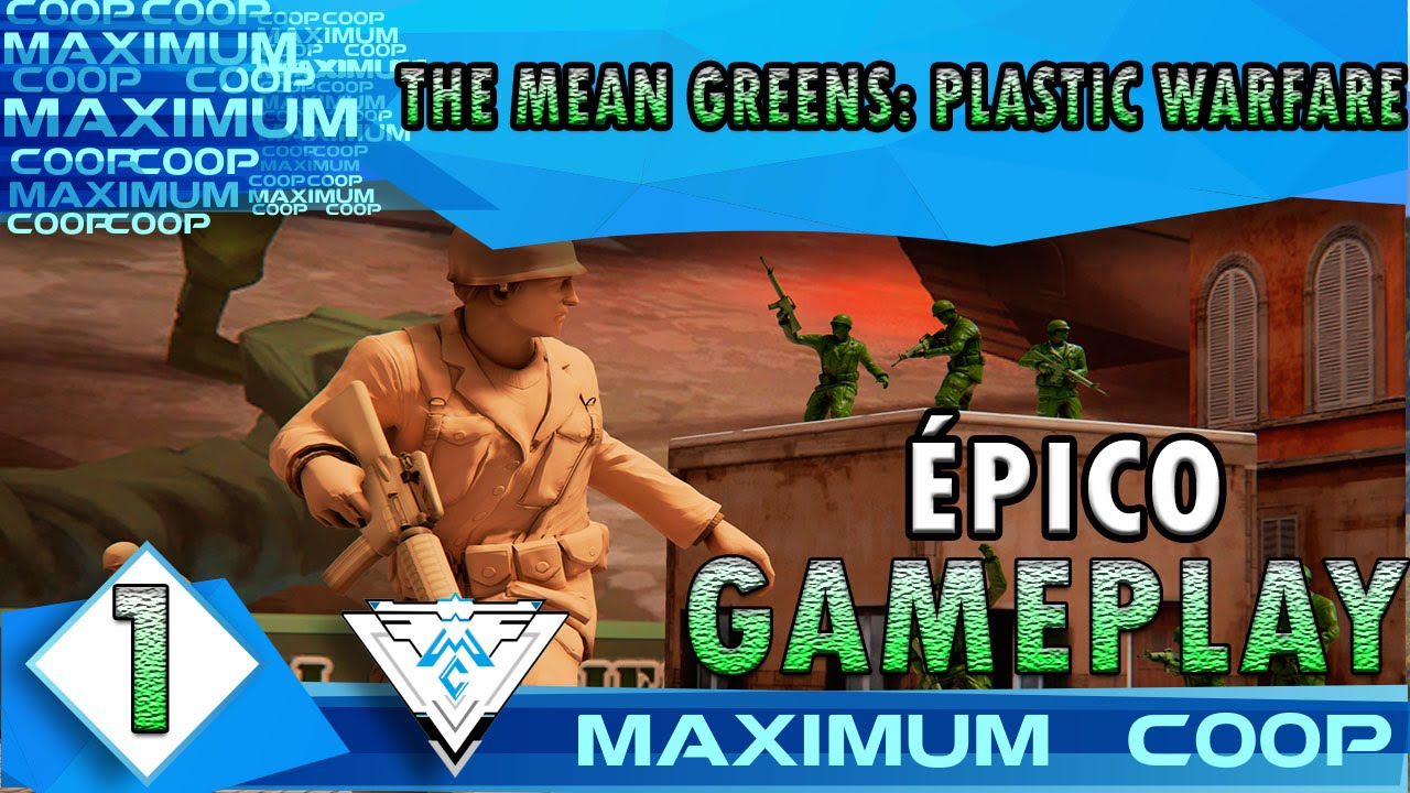 Epico Meaning: THE MEAN GREENS: PLASTIC WARFARE COOP #1