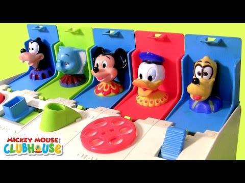 Mickey Mouse Clubhouse Pop-Up Pals Surprise Disney Baby Toy - Learn Colors with Dumbo Donald Minnie