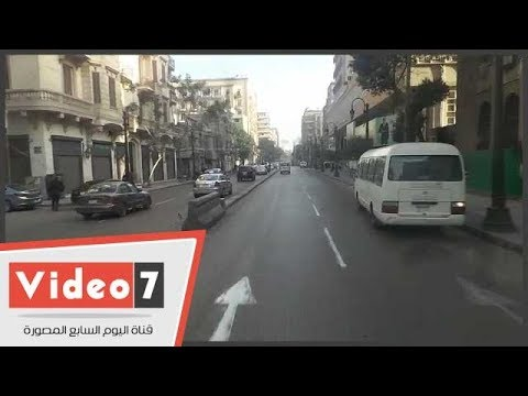 اليوم السابع :النشرة المرورية.. كثافات مرتفعة بمحاور وميادين القاهرة والجيزة