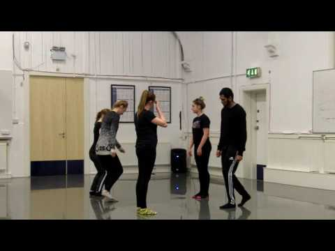 Kayleigh and Dawn STOMP Class Part 1