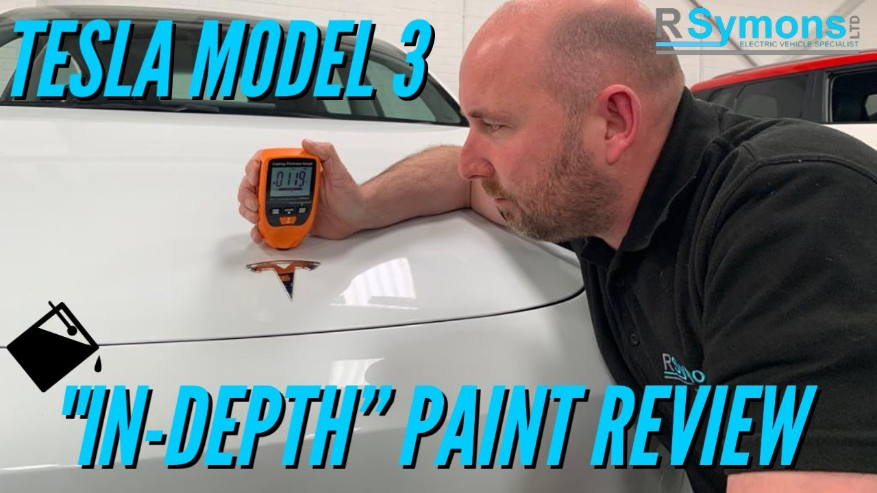 Tesla Model 3 in-depth paint review. Made in China v USA built comparison.