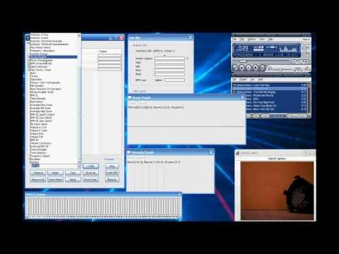 Úvod do použití aplikace DMX Music Visualization (pracovní verze)