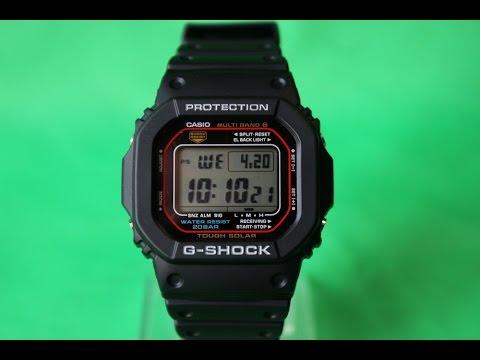 G-SHOCK GW-M5610-1E | Обзор и настройка (на русском) | Купить со скидкой