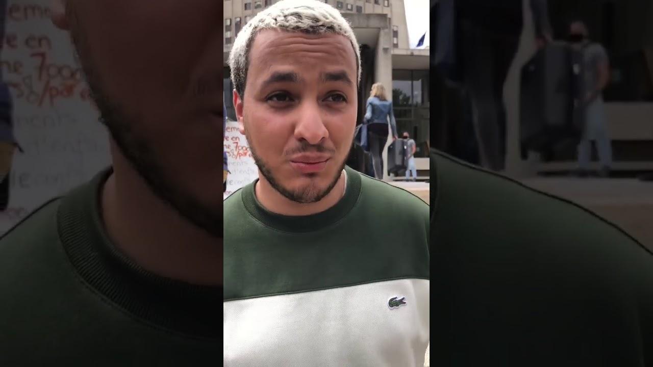 Taha Bouhafs à la sortie du TGI de Créteil : « Je revendique le fait d'être un journaliste engagé »