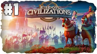 Let's Play Rise of Civilizations 🌚 #1 - Welche Zivilisation nimmst du? ★ (Deutsch / German)