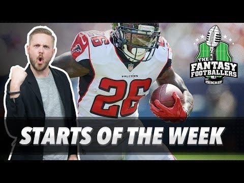 Fantasy Football 2017 - Starts of the Week, Week 7 Matchups, Bad Luck - Ep. #461