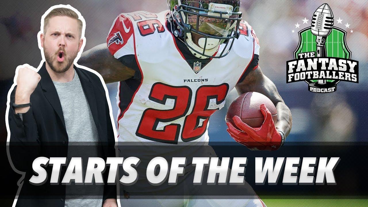 Download Fantasy Football 2017 - Starts of the Week, Week 7 Matchups, Bad Luck - Ep. #461