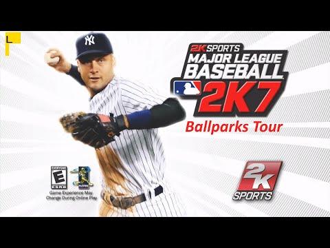 MLB 2K7 Ballparks (4K60FPS)