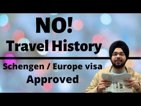 Schengen/Europe Visa Approved Without Travel History || Documents, Process, Fees Etc.