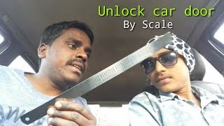Unlock car door without key    By Scale    Full Review