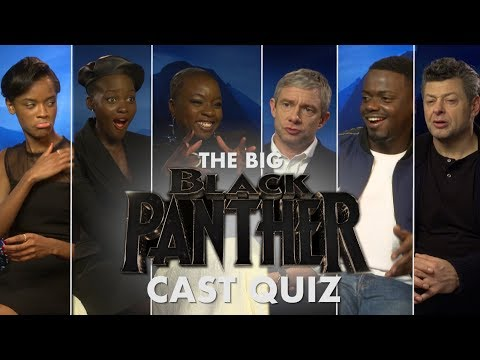 How well do the Black Panther cast know each other?