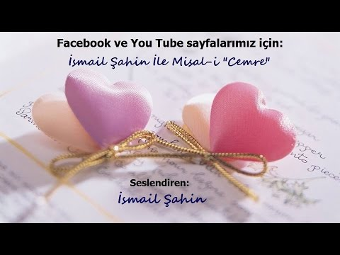 İsmail Şahin  -  Bir Aşk Hikayesi..!